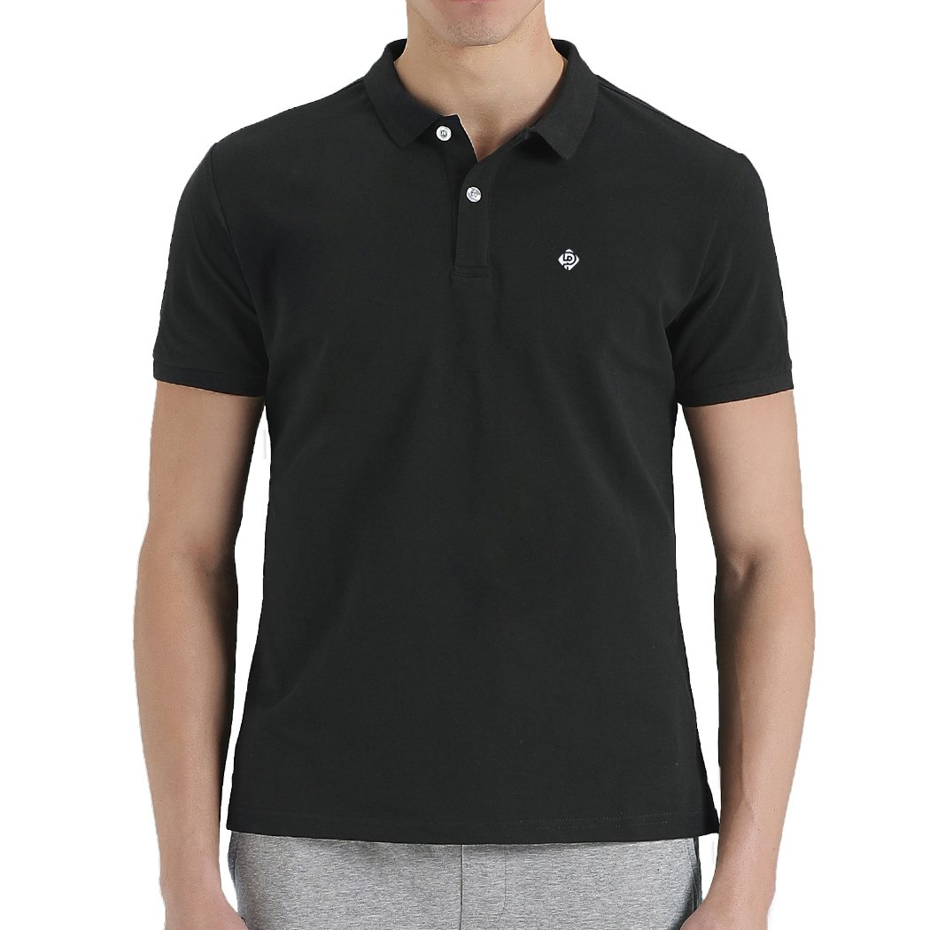 b30bbaaf Classic fit through the chest for a comfortable unrestricted fit with a  printed neck label to maximize comfort. Short-sleeve polo shirt in  breathable ...