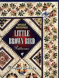 Applique Masterpiece: Little Brown Bird Patterns