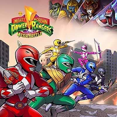 Amazon Com Saban S Mighty Morphin Power Rangers Mega
