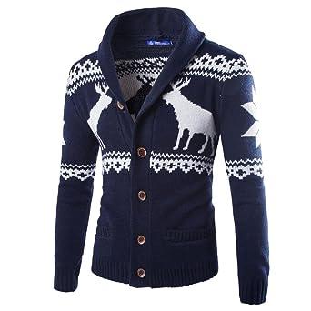 Pullover Cardigan Streifen Stehkragen gestrickten Herren Mantel Herbst Jacken Frühlings hCxQdtsr