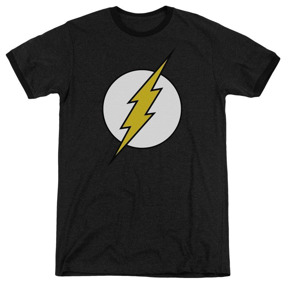 Fl Classic Adult Ringer T DC Comics Shirt M