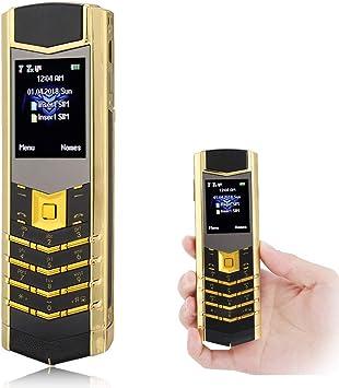 Mavis Laven Teléfono Celular portátil, 1.8 Pulgadas, teléfono ...