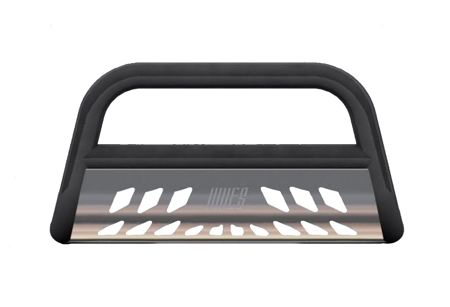 Aries B35-3006 Black  Bull Bar with Stainless Steel Skid Plate