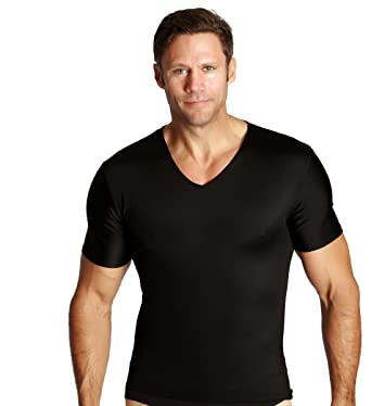 fa74b32c Insta Slim 6 Pack V-Neck t-Shirts, Look up To 5
