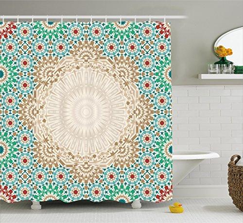 Moroccan Curtain Ambesonne Oriental Bathroom