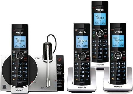 Vtech ds6771 – 3 sistema de teléfono inalámbrico con auricular inalámbrico (4 Terminales): Amazon.es: Electrónica