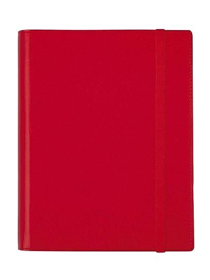 Finocam - Agenda 2020 1 día página DuoBand Rojo catalán: Amazon.es ...