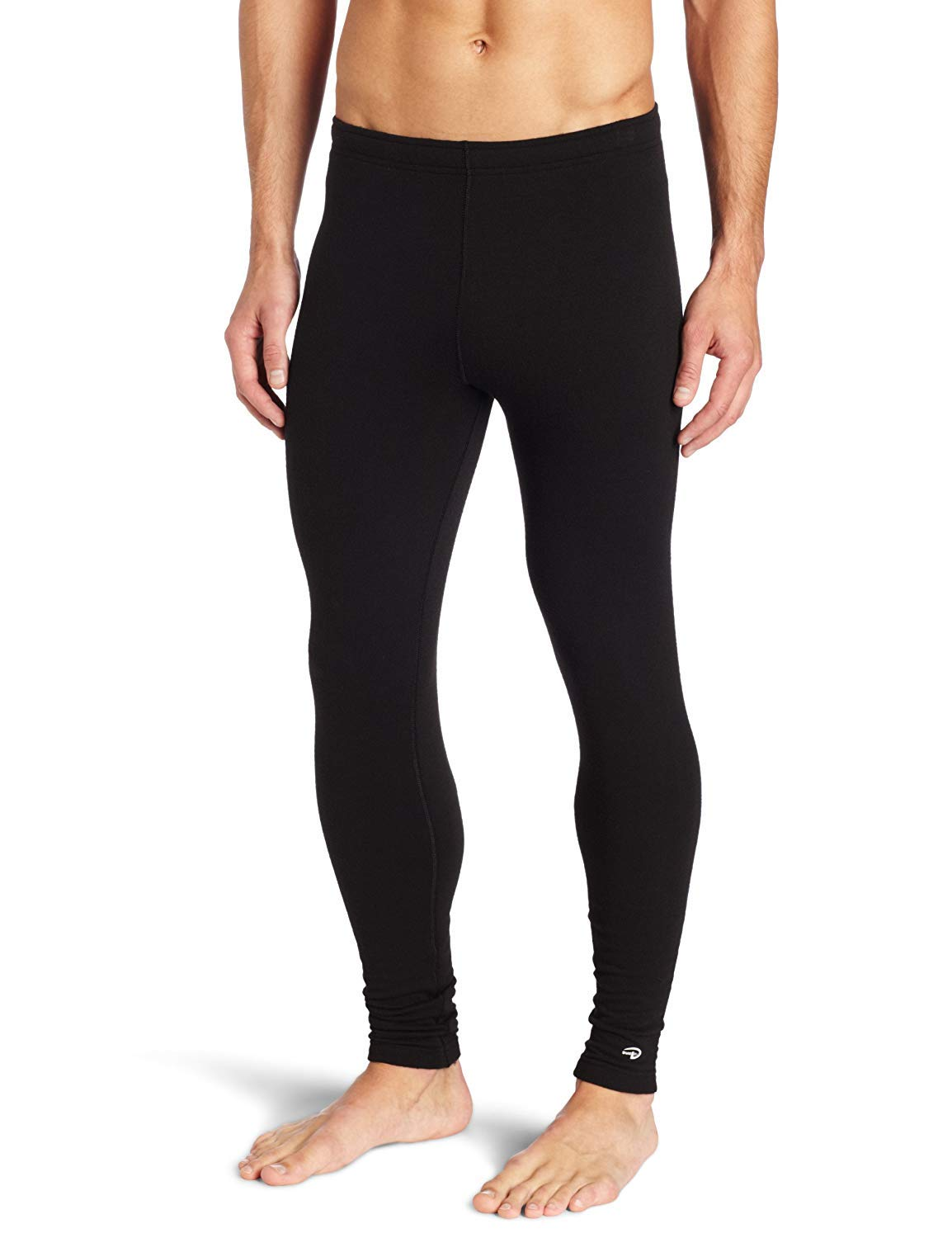 Duofold Men's Expedition Weight Two-Layer Thermal Tagless Bottom, Black, Medium by Duofold