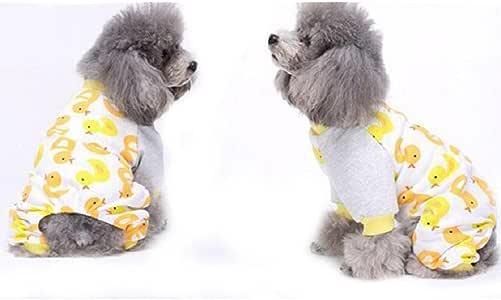 Ropa para perros Transer®, bonito pijama de algodón para