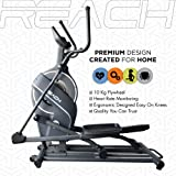 REACH CF-200 | Elliptical Trainer | 10 Kg Flywheel | Best Semi Commercial Cross Trainer Elliptical Cycle for Home and Gym Use