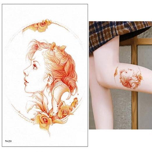 adgkitb 3 Piezas de Dibujos Animados Azul Cuentos de Hadas Tatuaje ...