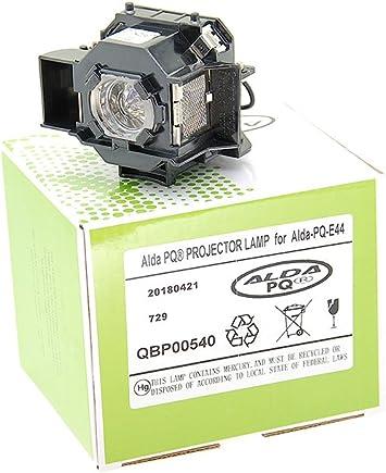 Alda PQ-Premium, Lámpara de proyector para EPSON Eh-DM2, EMP-DM1 ...