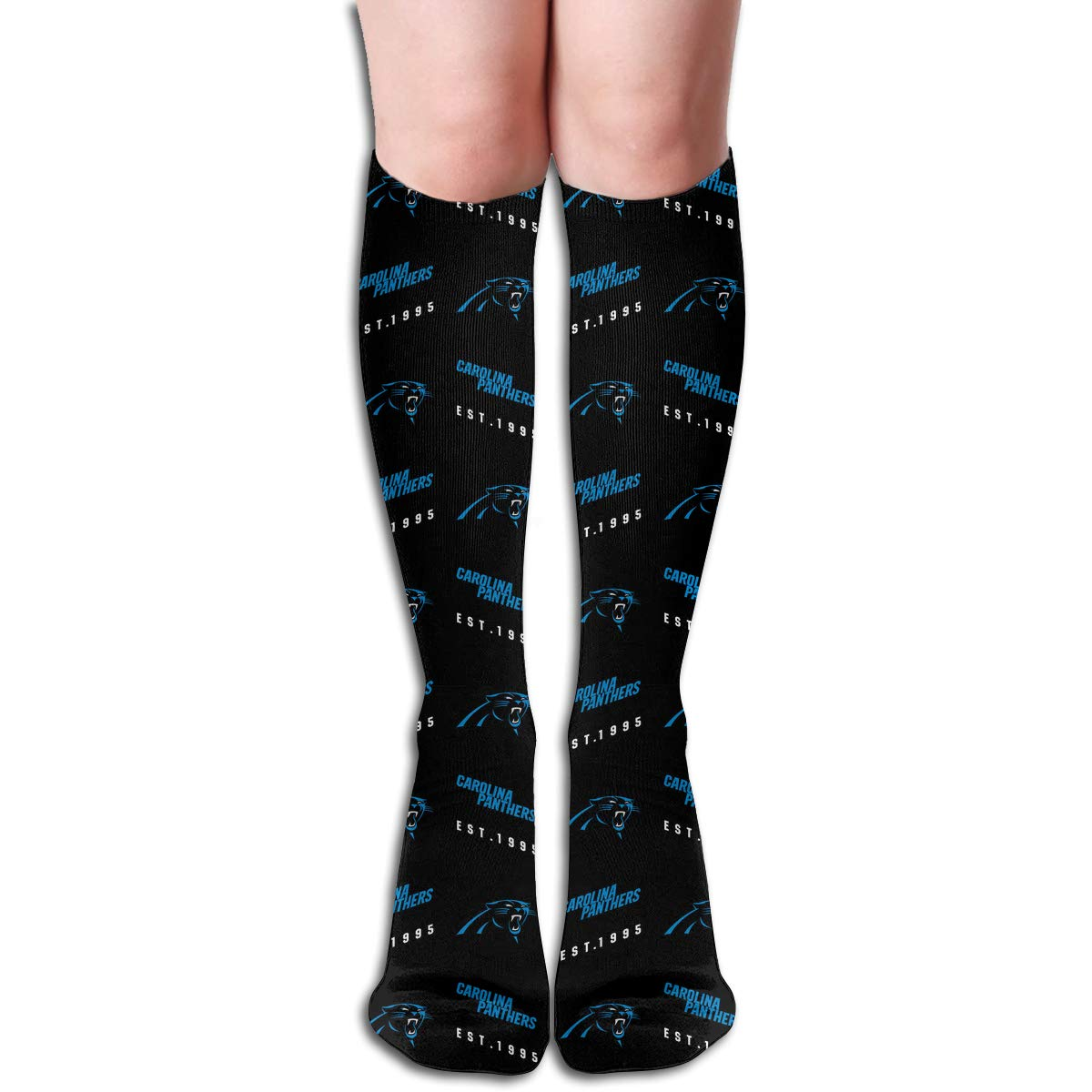 LOMELIN Custom Girls 1 Pairs Long Socks Buffalo Bills Football Team Women Casual Knee High Tube Socks Mid-Calf Gift Sock