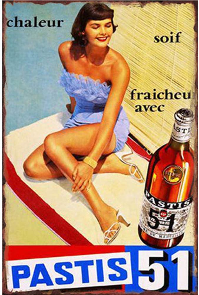 Guinness is Good for You /Étain Mur Signe Affiche de Fer M/étal Mur /étain Panneau Attention Plaque R/étro d/écoration Murale pour Caf/é Bar H/ôtel Jardin Parc