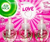 air freshener floral - Air Wick Limited Edition Love Floral Notes Air Freshener Scented Oils Refill (3 Refills)