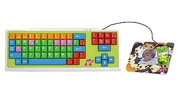 Woxter Kids combo teclado y ratón