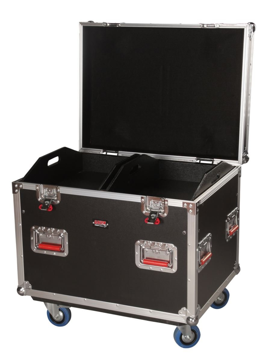 Gator G-TOURTRK302212 Truck Pack Trunk, 30 x 22 x 22 Inches, 12mm with Dividers