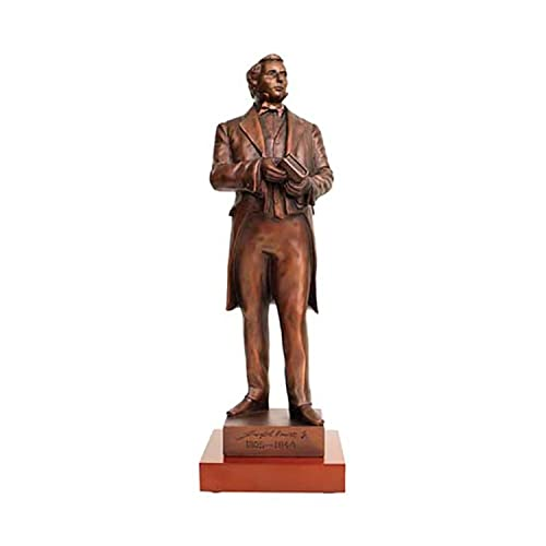 S20W – Joseph Smith Statue Bronze 14 with wood base