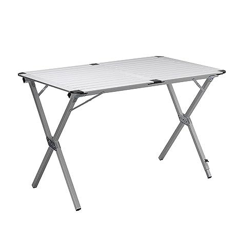Mesa de camping 110 x 70 x 70 - Soporte Persiana - ajustable ...