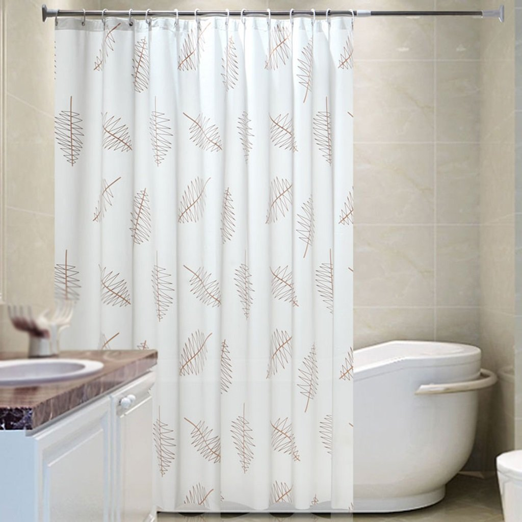 Home Curtain PEVA Bathroom Waterproof Mildew Proof Shower Screen Curtain