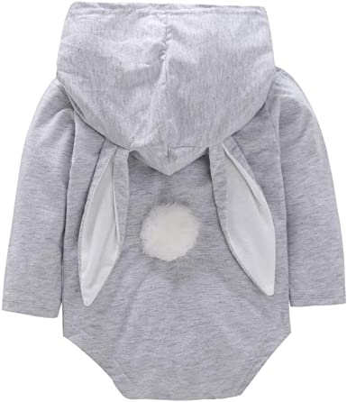 Baby Cute Rabbit Bodysuits Rompers Outfits Clothes,Long Sleeve