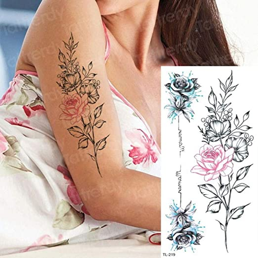 Handaxian 3 Piezas Etiqueta engomada del Tatuaje Mujeres niños ...