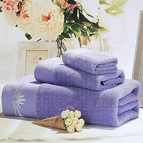 zem-pxd toalla de baño, algodón, adulto, de grosor, suave,