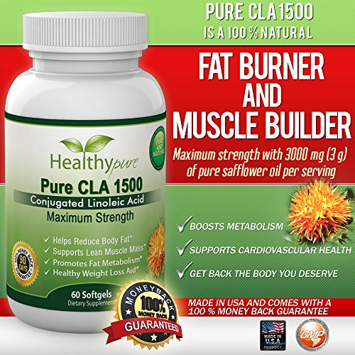 Best CLA Safflower Oil Supplement Reviews & Price
