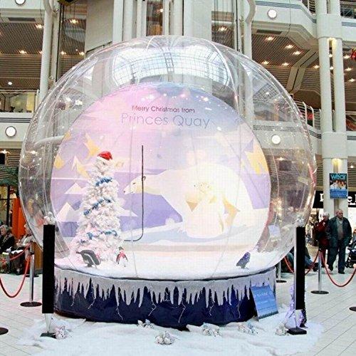 Casa hinchable de tienda de campaña de cúpula de transparente para ...