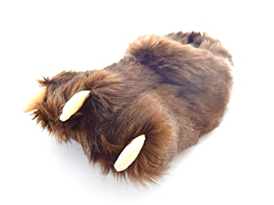 0e223fb9e71 Brown Claw Slippers for Kids