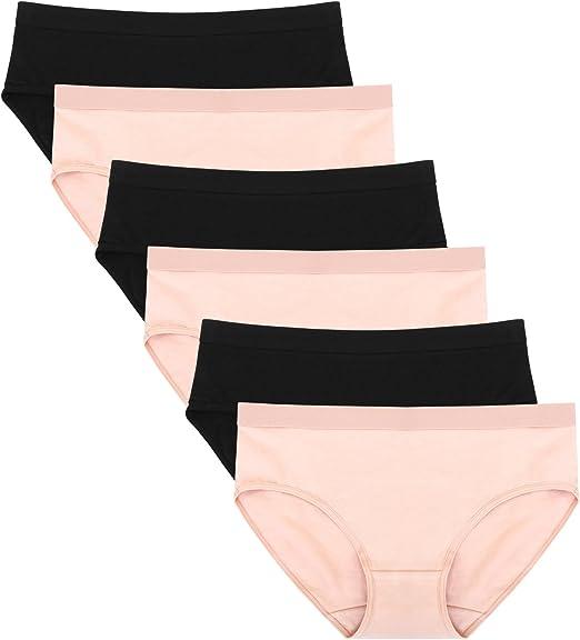 Beige Nude Skin Briefs Knickers Panties Lace Back Pack of 3