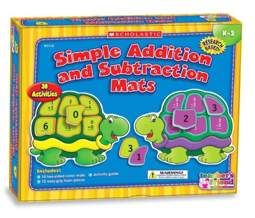 Simple Addition and Subtraction Mats