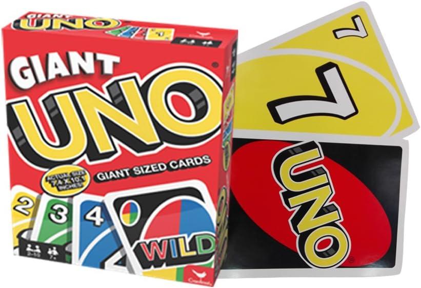 Spin Master Games 6038083 – Giant Uno: Amazon.es: Juguetes y juegos