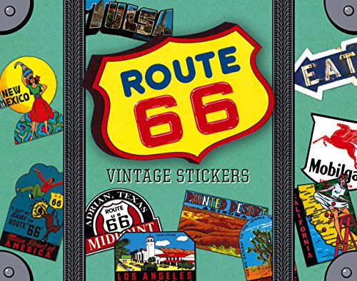 Route 66 Luggage Labels (travel stickers)