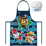 Kids Kitchen Apron + Hat Set Paw Patrol (3 To 8 Years)