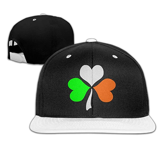 4a23bde301787 Amazon.com  NMG-02 Irish Shamrock ST. Patricks Day Unisex Snapback Hats