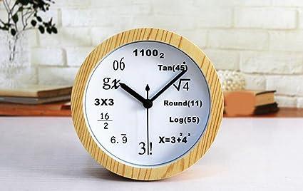 Longless reloj de alarma digital madera mudo 12CM
