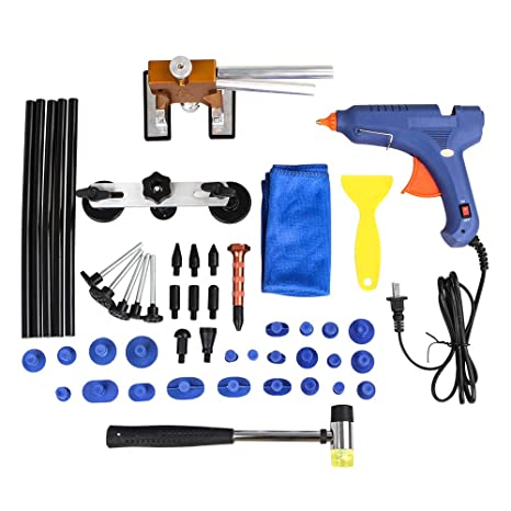 Amazon com: EForces 40-Piece Paintless Dent Repair Tool Kit