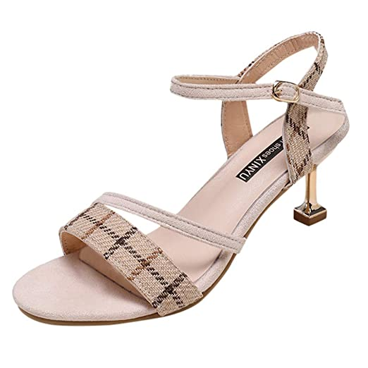 e38670f930a8b Amazon.com: MmNote Women Shoes, Womens Elegant Dress Mid Heel ...