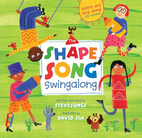 The Shape Song Swingalong (Book & Enhanced CD) (A Barefoot (Sing Along Word Music)