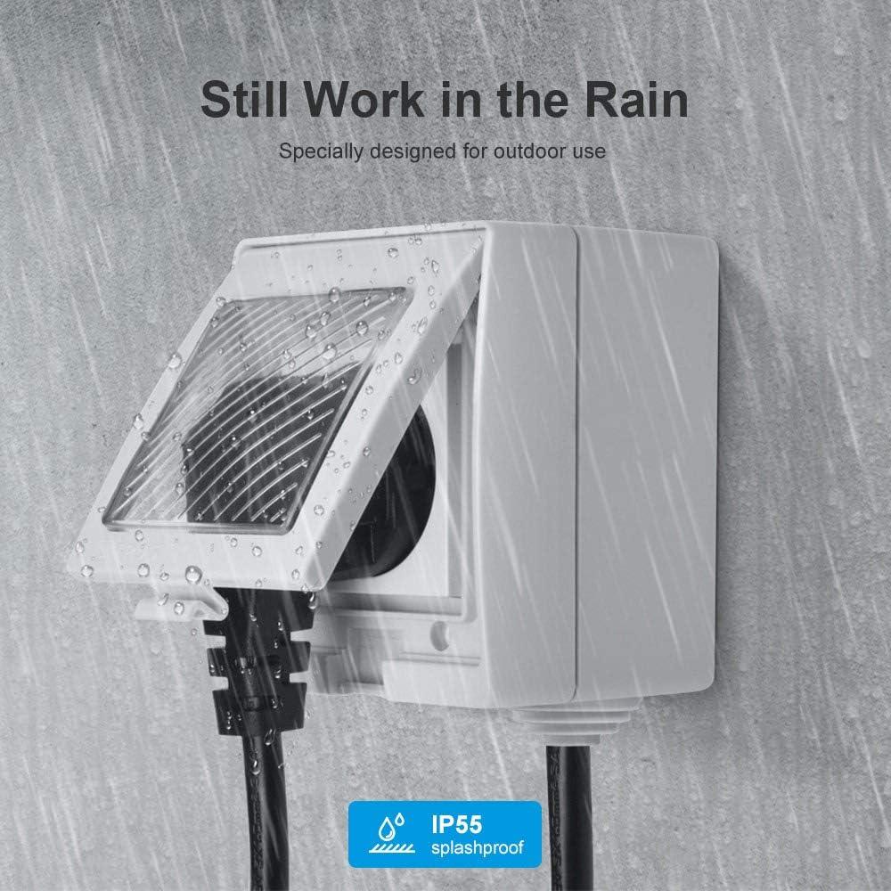 Sonoff S55 Wi-Fi Smart Waterproof Socket Enchufe Wifi Impermeable