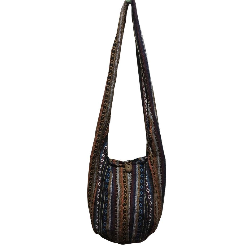 Hippie Bag レディース カラー: ブラック B07CQTL571