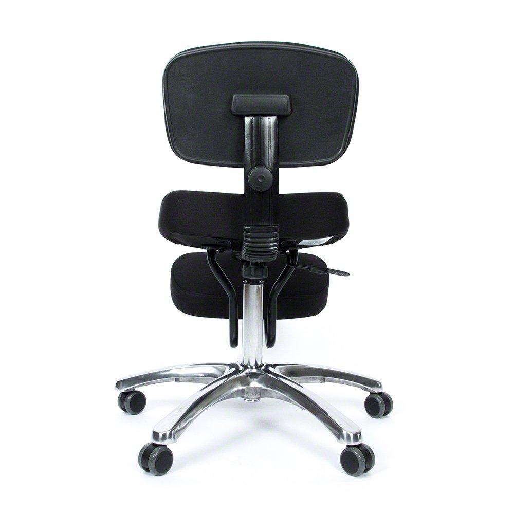 jobri jazzy deluxe ergonomic kneeling chair with backrest ergonomic