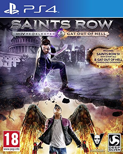 Saints Row IV Re-elected & Saints Row: Gat Out of Hell (PS4) (UK - The Uk Row