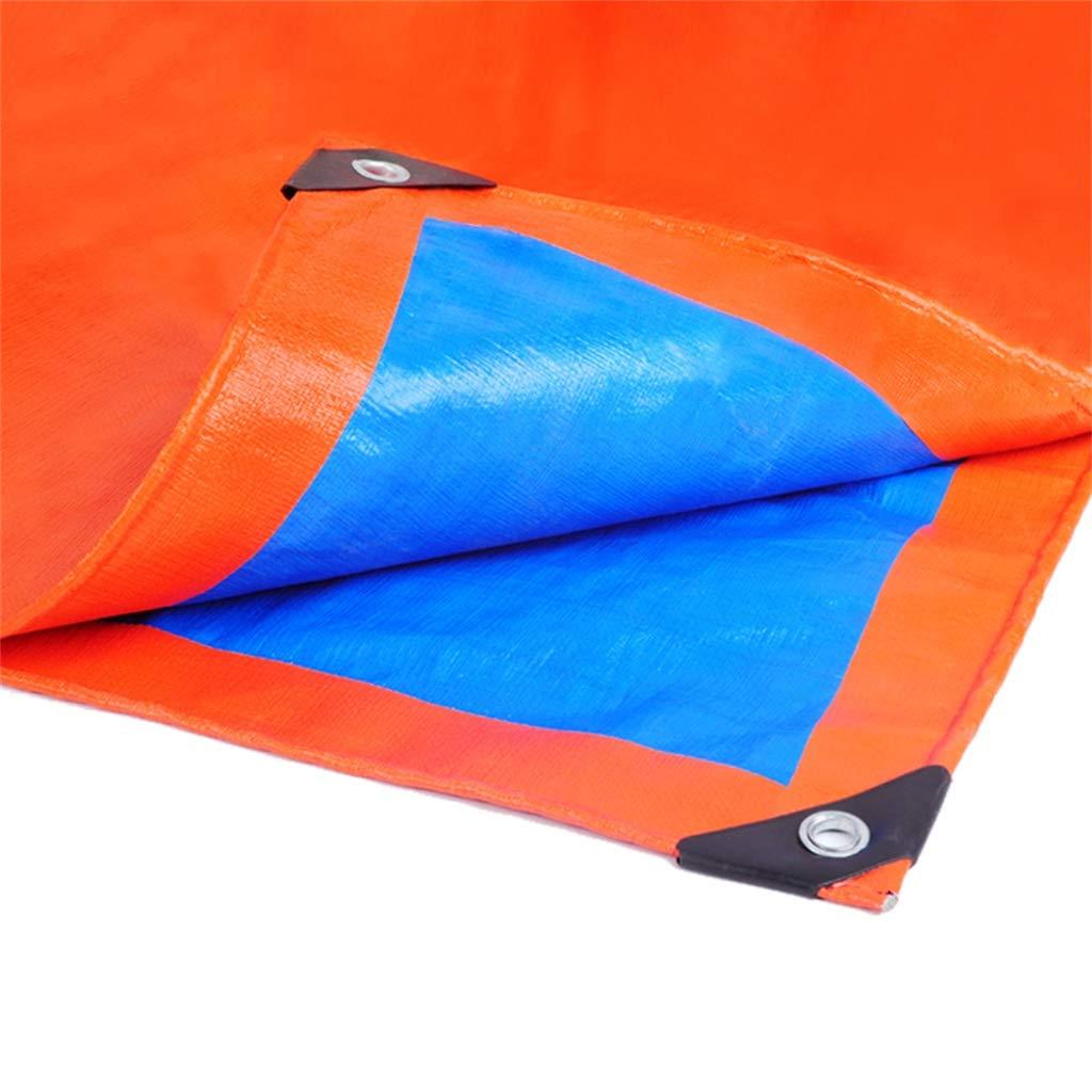 Telone in in in PE Bifacciale impermeabile per impieghi gravosi per esterni Tendina parasole antipioggia antivento (dimensioni   4X4M) | Trendy  | Exquisite (medio) lavorazione  726566