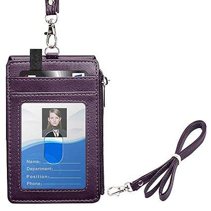Funda para tarjeta identificativa de identificación de piel ...