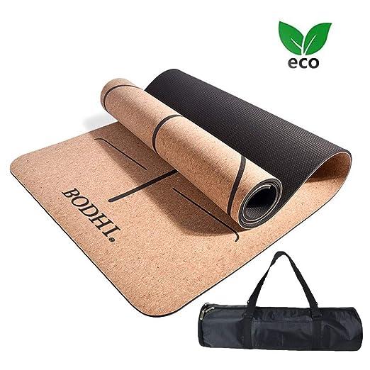 AJ Calidad Yoga Matt Esterilla Yoga Corcho Ecologica ...