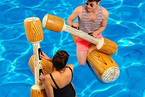 CHRRI Remo Inflable del Barco, Un Juego De Agua Juegos Acuáticos Juegos De Natación Piscina De Vacaciones Deportes Acuáticos Felices