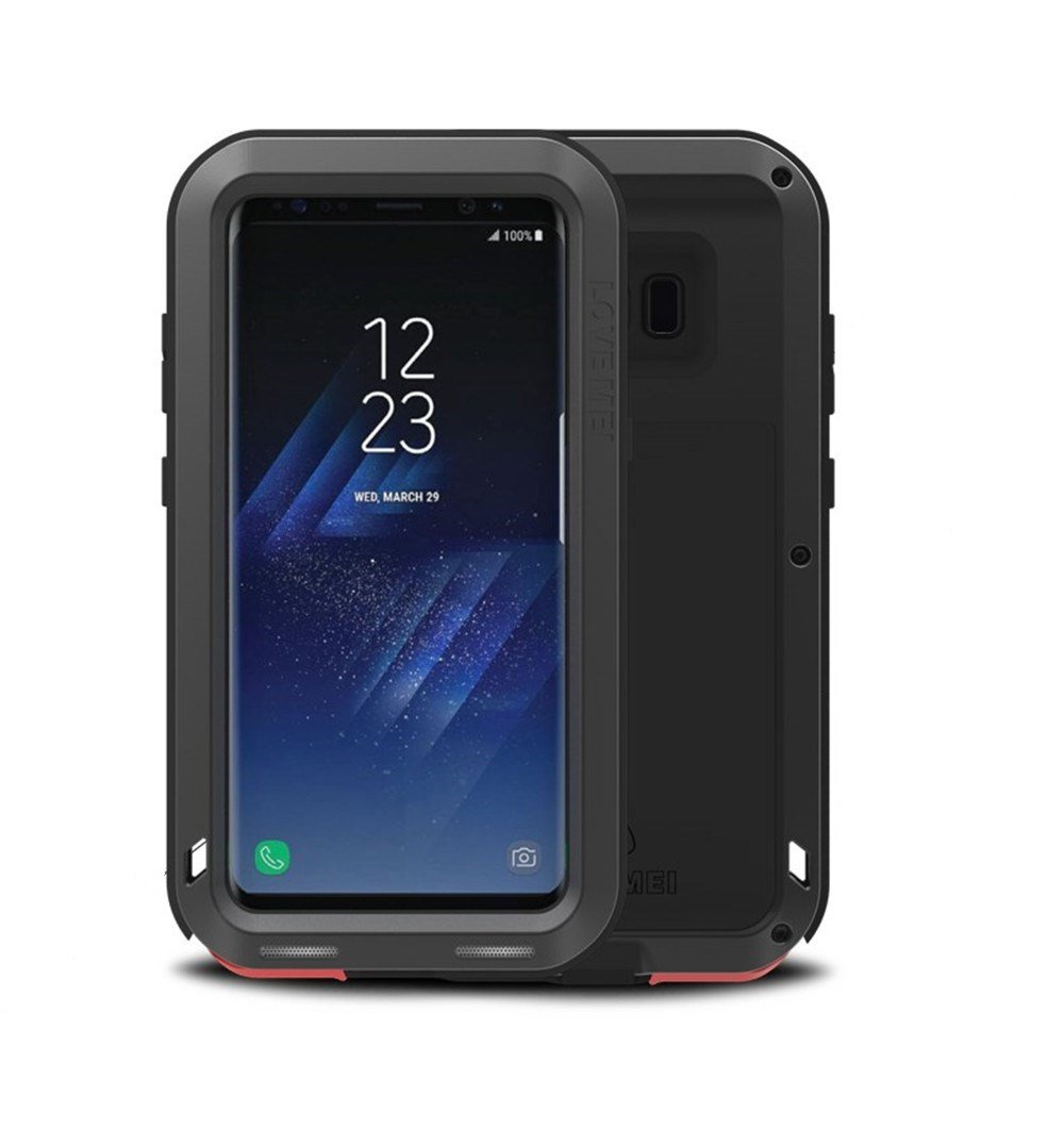 size 40 316de c7fc6 Galaxy S8 Plus Metal Case, Love Mei Armor Tank Aluminum Metal Shockproof  Military Heavy Duty sturdy Protector Cover Hard Case for Samsung Galaxy S8  ...