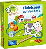 HABA On the Farm Threading Game for Ages 18 Months + (Made in Germany)